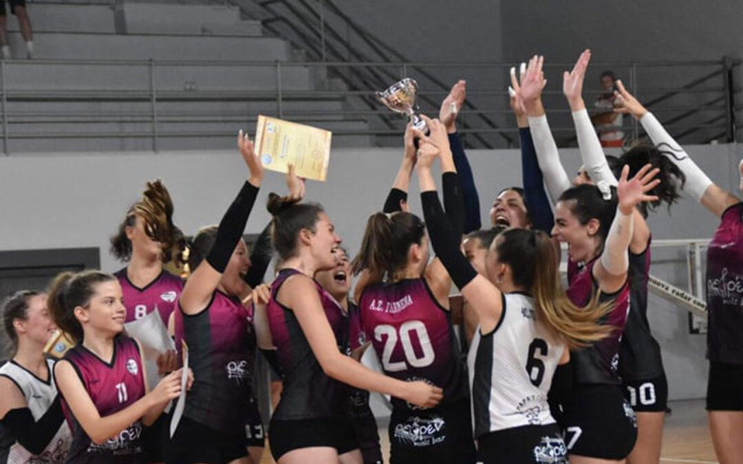 Στην κορυφή τα κορίτσια Κ20(Νεανίδων) του ΓΑΣ!!!